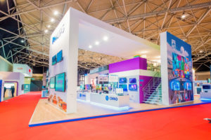 Prague Trade Show Booths Photography